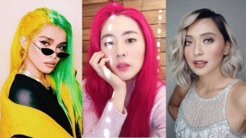 5 celebrities with bold hair colors