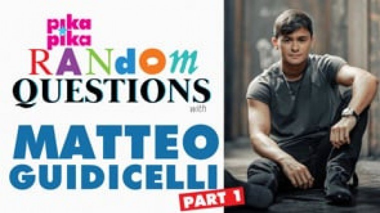 PART 1: Matteo Guidicelli answers Random Questions from Pikapika!