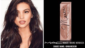 INSTAPIKA: Maine Mendoza talks about experience making her own MAC lipstick