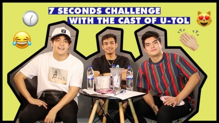 WATCH: 7 Seconds Challenge with Julian Trono, Andrew Muhlach and Vitto Marquez