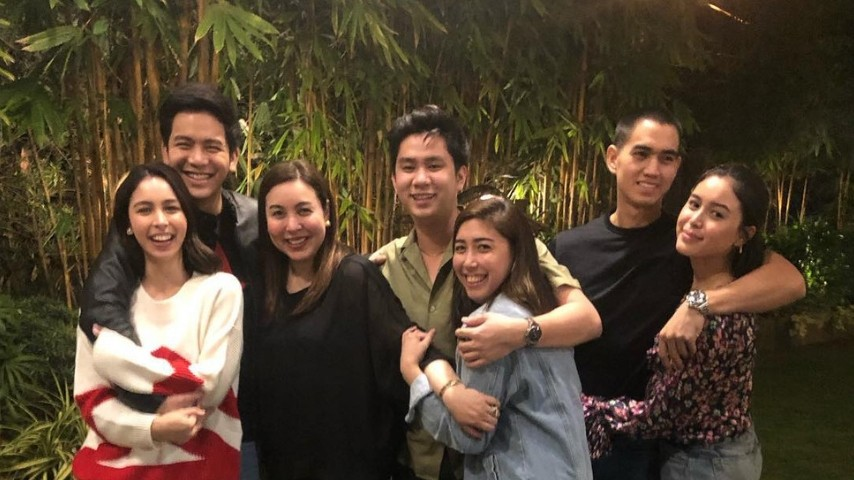 Marjorie Barretto threw a Valentines Day dinner for all
