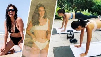5 workout videos of Isabelle Daza and Anne Curtis for your daily fitspiration