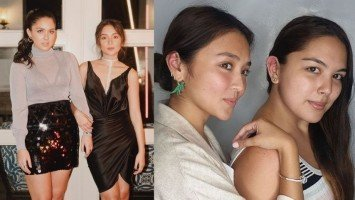 LOOK: Kath and Ria got matching ear piercings!
