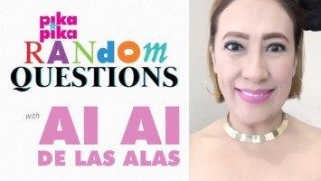 Ai-Ai delas Alas answers random questions from Pikapika!