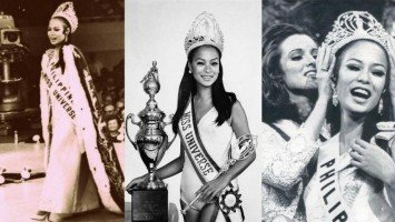 OVER THE MOON WITH THE UNIVERSE: Gloria Diaz celebrates 50 years since winning Miss Universe