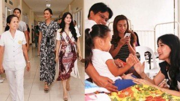 Is Heart Evangelista's hospital visits and improvement plans for local healthcare in Sorsogon a preamble to her political entry?