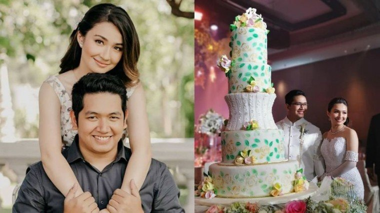Asia's Got Talent runner up Gerphil Flores and businessman Brad Libanan rang the wedding bells over the weekend!