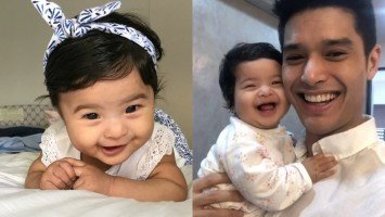 "PIKACUTIE MONDAY: Baby Lana ""bungisngis"" and her infectious laughter"