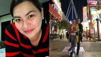 Aiko Melendez, sinundan ng naka-tampuhang boyfriend sa Amerika