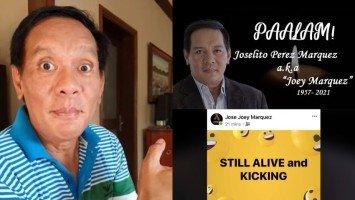 "Joey Marquez, latest celebrity na biktima ng ""patay na"" fake news"