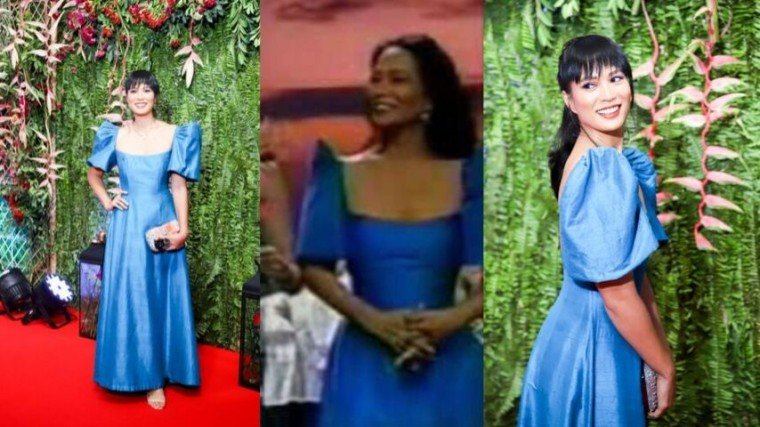 Belle Daza looked elegant in her mom's classic ensemble at the ABS-CBN Ball 2019! And did you know that this is not the first time she wore the same gown?