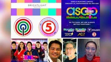 Pagpasok ng ASAP sa TV5, hindi daw collab ng Dos at Singko; kundi ng TV5 at Brightlight Productions ni Albee Benitez