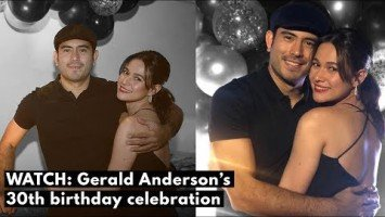 HIGHLIGHTS: Gerald Anderson's 30th birthday celebration