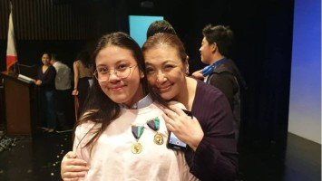 Sharon Cuneta proud of daughter Miel's excellence awards
