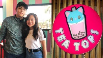 WATCH: Highlights of Ella Cruz's Tea Tops Milk Tea + Everything store opening