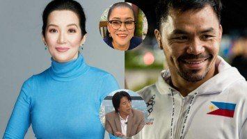 Kris Aquino crushes Lolit Solis' guess that she will work with Manny Pacquiao for a new show