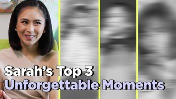 Sarah's Top 3 Unforgettable Moments