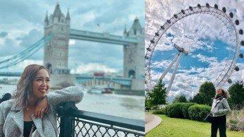 TRAVEL TUESDAY | Kakai Bautista happily roams the grandeur of London