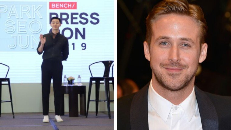 Park Seo Joon feels honored to be compared to Ryan Gosling but promises work extra hard to be known for his own craft next time.