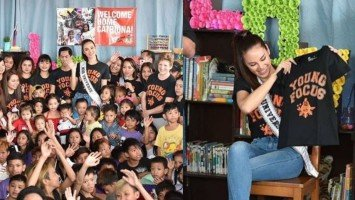 Catriona Gray's Miss Universe triumph, a great help for Filipino children