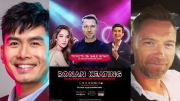 Pika's Pick:  Christian Bautista is a guest performer in Ronan Keating's concert in Indonesia next year