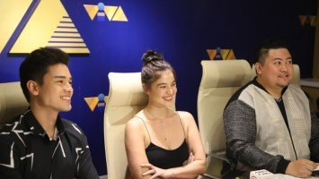 Marco Gumabao showered with compliments by Anne Curtis