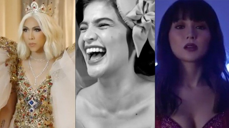 some of the Kapamilya stars channeled their inner modern Maria Clara at their respective pre and post ABS-CBN Ball videos.