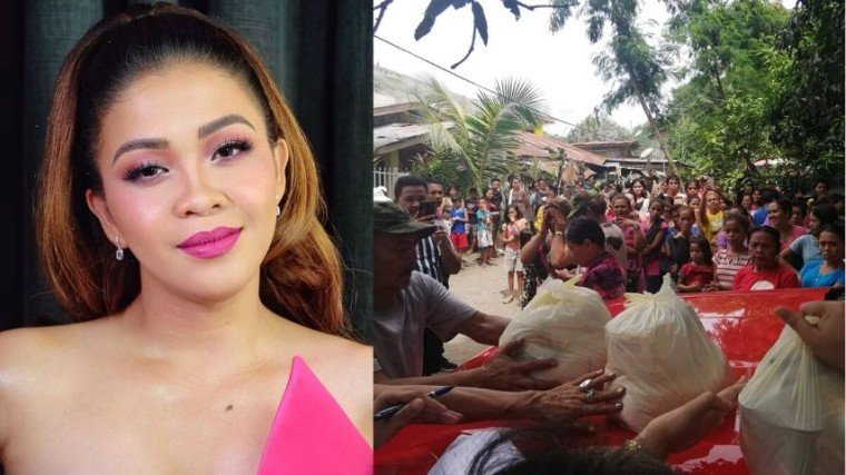 Darla Sauler applauded Melai Cantiveros good deed on Instagram. Melai helped the Mindanao quake victims by donating relief goods.