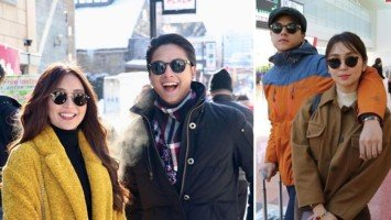 Kath and DJ are working on a new project in Japan