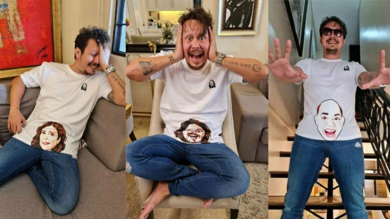 Baron Geisler is selling some shirts inspired by his recent film Tililing!