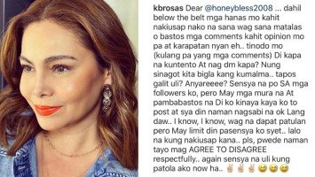 Pika's Pick: K Brosas loses patience on persistent basher and threatens to sue; friend Pokwang comes to her defense