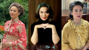 Dawn Zulueta styles herself in the form of iconic characters from hit period series and films