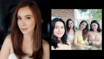 """Sunshine Cruz tells Netizen who called her out for posting """"sexy pics"""" of her daughters: """"Naka-swimsuit or gown lalabas at lalabas ang mga manyak at bastos."""""""