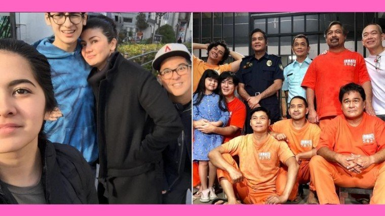 Aga Muhlach's commitments to the MMFF 2019 entry, Miracle in Cell No.7, prompted him and his family to spend the Christmas holidays in the Philippines instead.