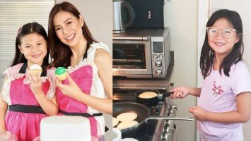 Bettinna Carlos, proud sa cooking skills ng anak na si Gummy