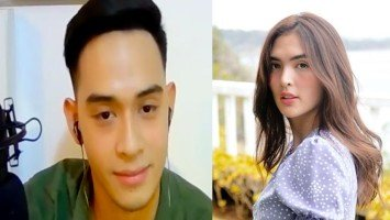 Diego Loyzaga expresses happiness for former love team partner Sofia Andres who has recently entered motherhood