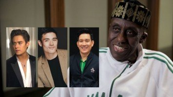 Hollywood actor invites Enrique Gil, Xian Lim and Richard Yap to discuss international spy movie
