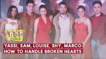 Yassi, Sam, Louise, Shy, Marco: How to Handle Broken Hearts