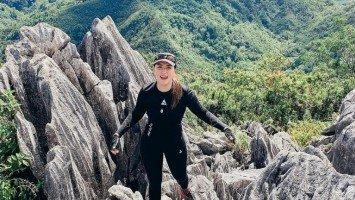 Ara Mina shares love for hiking