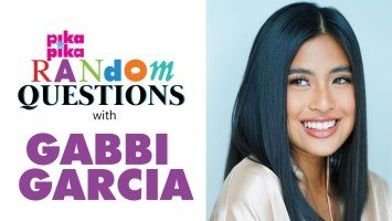 EXCLUSIVE:  Gabbi Garcia answers Random Questions from pikapika!