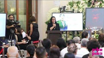 "Eddie Garcia Eulogy Series |  Sunshine Dizon: ""Mami-miss ko ang mga Manoy antics niya sa set."""