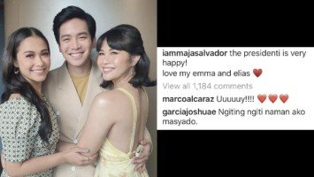 Pika's Pick: Joshua Garcia's reaction to this photo-post of Maja Salvador prompts massive kilig feedback from JoshNella fans