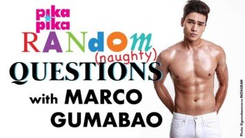 Marco Gumabao answers random NAUGHTY questions from Pikapika!