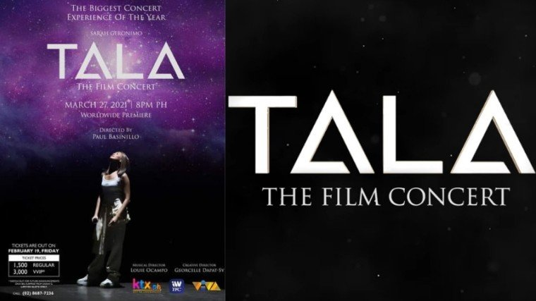Sarah Geronimo dropped the teaser for her upcoming online concert Tala The Film Concert and fans are excited about it!