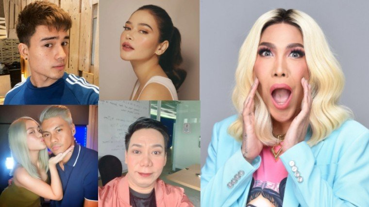 Viva artists like Marco Gumabao and Bela Padilla showed their support for the Unkabogable Box Office Star Vice Ganda amd the launching of his first show under The Vice Ganda Network!