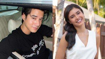 """Thai actor Mario Maurer, may """"good luck"""" message para kay Rabiya Mateo sa Miss Universe; Rabiya, hindi napigilang mag-fangirl"""