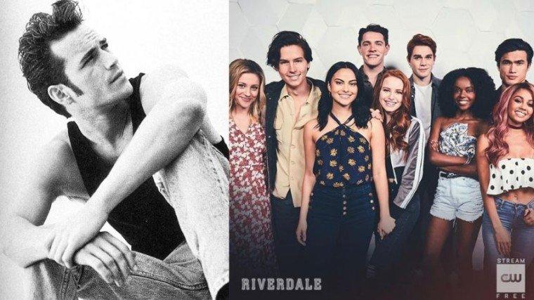 Naglabas na ng ilang photos ang Riverdale kunsaan nakikitang malungkot ang buong cast at yakap ni Archie ang umiiyak niyang ina na si Mary Andrews, played by Molly Ringwald.