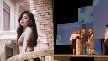Ella Cruz bags Best Supporting Actress trophy at Cinemalaya