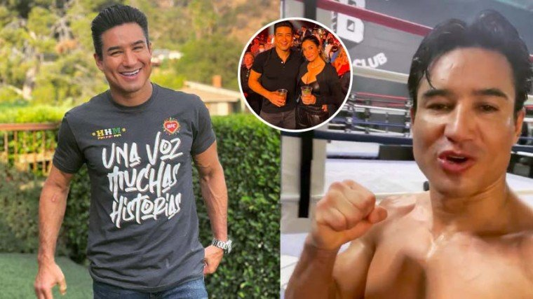 """Mario received birthday greetings and love from many friends, in and out of the business. His wife, Courtney Lopez, however post a flirty message: """"I have the sexiest husband. Happy birthday baby. Love you more than you know."""""""