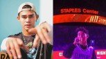 Inigo Pascual serenades Staples Center crowd during NBA Halftime Show